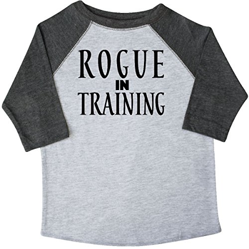 (inktastic Rogue in Training Toddler T-Shirt 4T 3/4 Sleeve Heather Smoke)