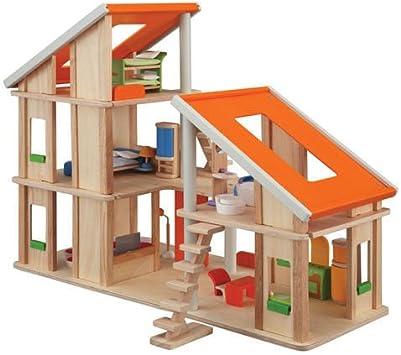 Amazon.es: PLANTOYS 13571410 - Casa de muñecas con muebles, color/modelo surtido: Juguetes y juegos