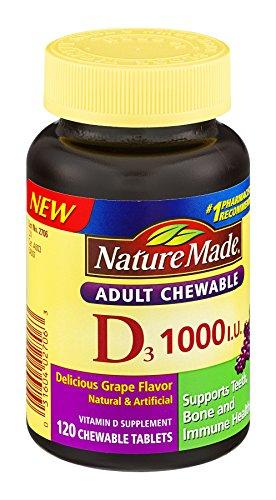 1000iu 120ct Vitamin Adult Chewable product image