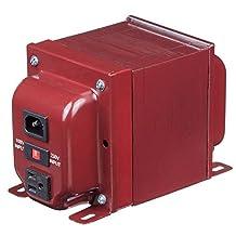 1800 Watt Step Up/Step Down Voltage Transformer - Use 100-Volt Appliances in 230-Volt Countries, Vice-Versa - AJ-1800EUD