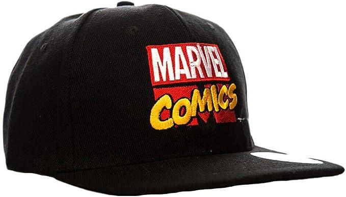 Gorra con Logo Retro de Marvel Comics: Amazon.es: Ropa y accesorios