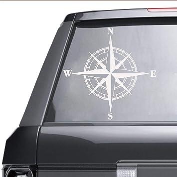 Art world Compass Sticker Para decoración de automóviles Para ...