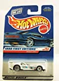 Hot Wheels - 1998 First Editions - Panoz GTR-1 - White Racing Paint - Die Cast - #19 of 40 - Collector #657 - Limited Edition - Collectible 1:64 Scale