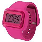 o.d.m watch Rainbow digital display scrolling message display pink DD125-3