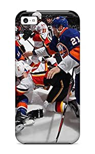Iphone 5c Case Cover New York Islanders Hockey Nhl (71) Case - Eco-friendly Packaging
