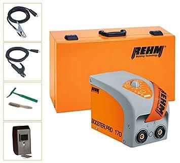 rehm electrodos de soldadura dispositivo Booster.Pro 170 Incluye electrodo Cable, Cable de tierra