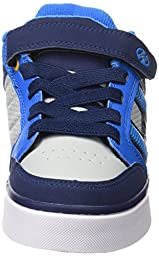Heelys Bolt Plus X2 Sneaker (Little Kid/Big Kid), Navy/New Blue/Lunar Grey, 1 M US Little Kid