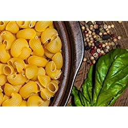 LAMINATED 36x24 Poster: Food Pasta Italian Basil Pepper Rustic Bowl Dinner Meal Lunch Diet Cuisine Nutrition Plate Eat Fresh Gourmet Mediterranean Cooking Plate Of Food