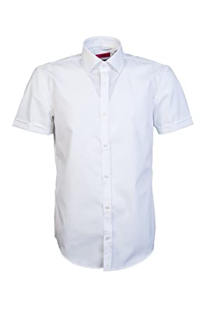 80ff47394 Image Unavailable. Image not available for. Color: Hugo Boss Mens Smart  Shirt ...