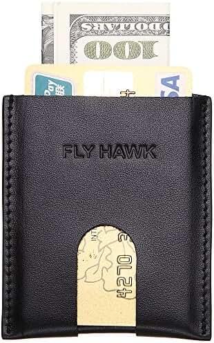 Slim Genuine Leather Card Case Sleeve Credit Card Holder Compact Wallet