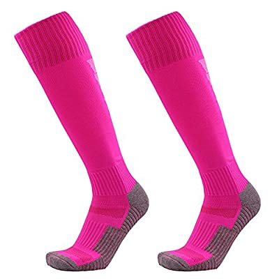 Elephant Dee Men's Sports Athletic Non-slip Football Over Knee High Socks