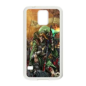 DIY Stylish Printing Game The Legend of Zelda Cover Custom Case For Samsung Galaxy S5 MK1M442865