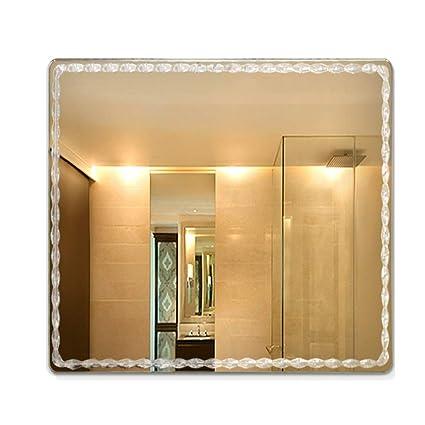 Specchi Moderni Senza Cornice.Mirror Semplice Specchio Moderno Bagno Senza Cornice Specchio