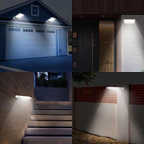Replace Garage Lights: InnoGear 30 LED Solar Lights Outdoor LED Motion Sensor