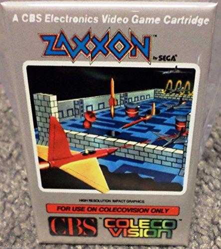 Zaxxon Colecovision Vintage Game Box 2x3 Fridge Locker MAGNET