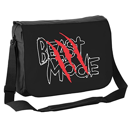 Art Hustle animale selvatico Beast Mode Classic Borsa Messenger