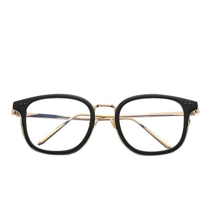 Amazon.com: Gafas de moda, espejo plano para hombres y ...