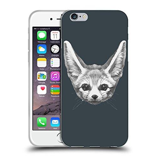 GoGoMobile Coque de Protection TPU Silicone Case pour // Q05230606 Fennec fox Arsenic // Apple iPhone 7
