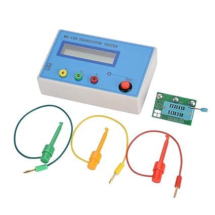 Akozon MK-168 Transistor Tester Multifuncional Transistor Tester Diodo Triodo Capacitancia Resistencia ESR RLC LCR