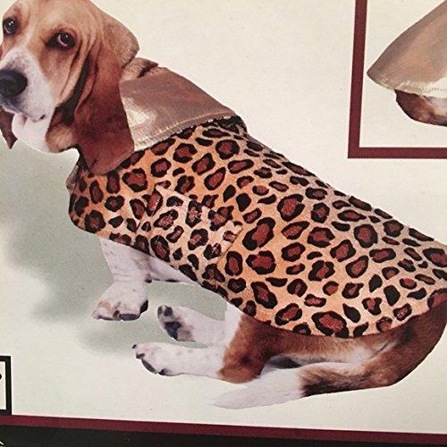 Reversible Cheetah - Doggiduds Reversible Cheetah Safari Jacket L