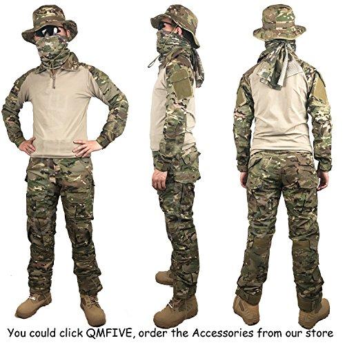 Softair Airsoft Military Paintball Pantaloni Army Tactical Da Per Camo Qmfive Men's Shooting Militari 2 Bdu Combat Combattimento Tattici Mc ISZqE