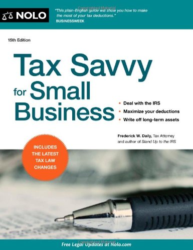 Download Tax Savvy for Small Business pdf epub