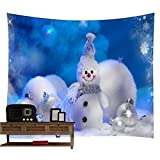 Startview New Fashion Christmas Xmas Tapestry Hippie Room Bedspread Wall Hanging Throw Blanket (H)