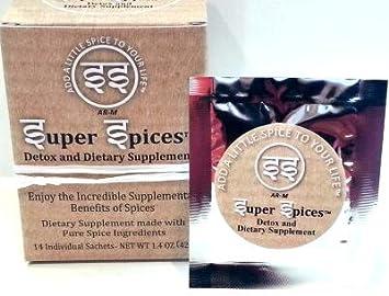 Amazon.com: Super especias Detox Suplemento de y especias ...