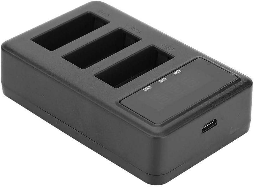 SJ4000 SJ7 V BESTLIFE Action Camera Battery Charger for SJCAM SJ4000 Portable Charger for 3 Camera Batteries SJ6 SJ8