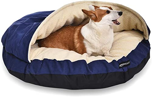 AmazonBasics Medium Pet Cave Bed