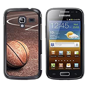 LOVE FOR Samsung Galaxy Ace 2 Vintage Basketball Texture Personalized Design Custom DIY Case Cover