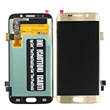 Brand New LCD Assembly Screen Digitizer Replacement Part For Samsung Galaxy S6 Edge - Gold