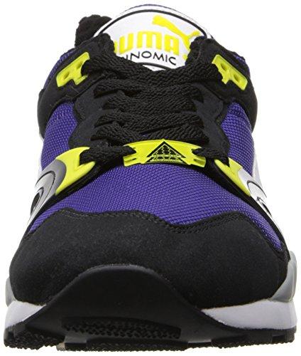 Puma Mens Puma Trinomic Xt Två Plus Klassiska Sneaker Prisma Violett / Svart / Vit