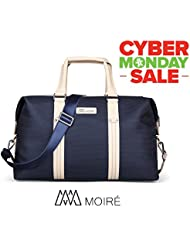 Moiré Ibiza Weekend Bag Oxford Mens Travel Duffel Messenger Luggage Bag