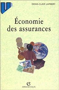 Economie des assurances par Jean-Marie Martin