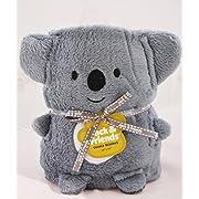 Jack and Friends Cuddly Animal Baby Koala Blanket