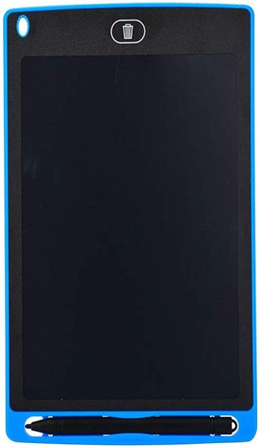 Sianding 8.5インチの目の保護電子描画パッドLCD画面書き込みタブレットデジタルグラフィック描画タブレット-青