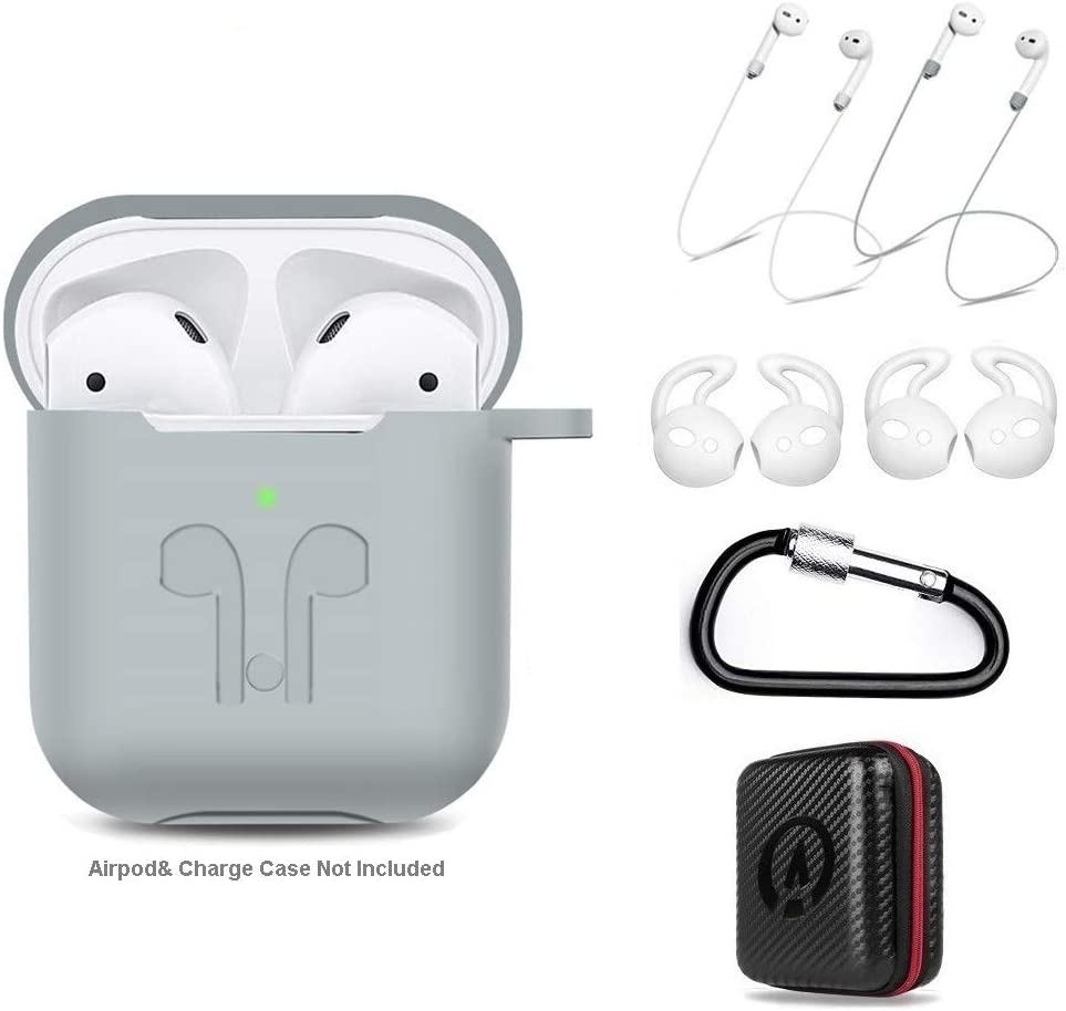 Amazon Com Airpods Case 7 In 1 For Airpods 1 2 Accessories Kits