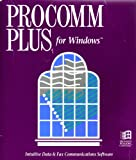 "Procomm Plus for Windows - Intuitive Data & Fax Communications Software [3.5"" DISKETTES]"