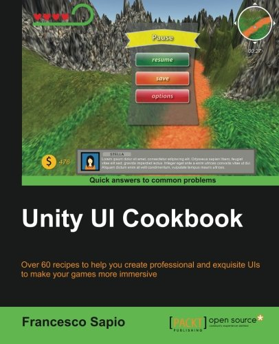 Unity UI Cookbook Front Cover