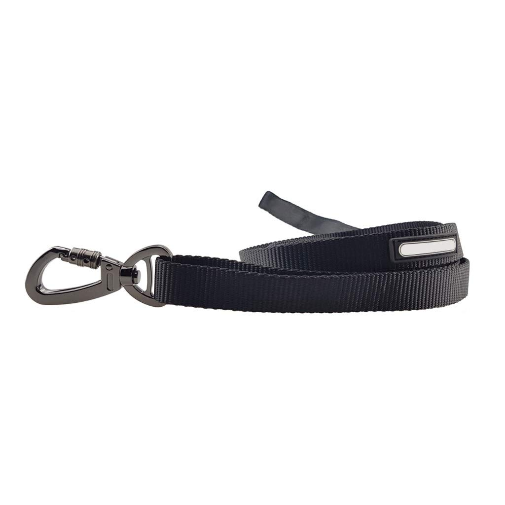 L JIANXIN Dog Leash, Multi-Function Adjustable Telescopic Dog Leash, Suitable for Medium and Large Dogs, Black Three Sizes (Size   L)