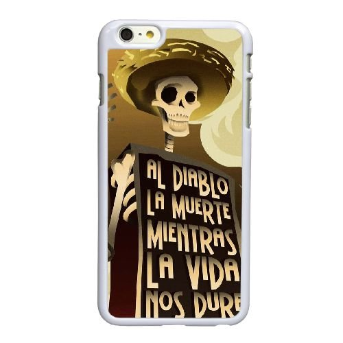 L5M87 Diablo I7G2IL coque iPhone 6 Plus de 5,5 pouces cas de couverture de téléphone portable coque blanche WY3QDG0FP