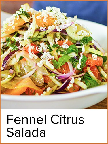 Fennel Citrus Salad - Salad Mandarin