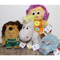 "Toy Story 3 Plush Set : Buttercup, Dolly, Trixie, Mr. Pickle Pants 8"" Dolls"