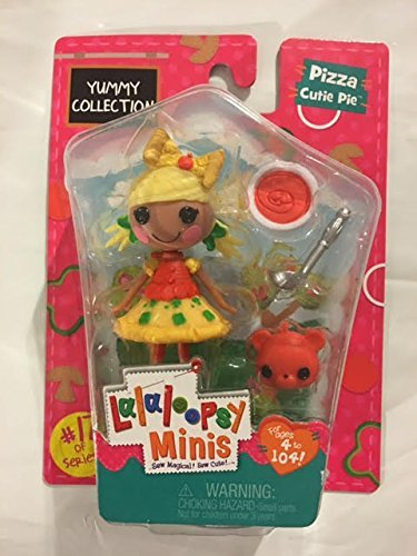 Lalaloopsy Minis Yummy Collection -Pizza Cutie Pie