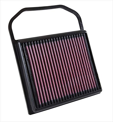 K&N engine air filter, washable and reusable:  2014-2019 Mercedes V6 (C400, C43 AMG, C450 AMG, E450, GLC43AMG, GLE400, GLS 400 and other select models) 33-5032
