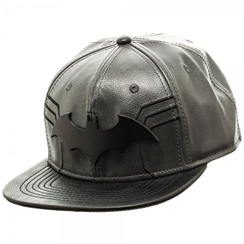 DC Comics Batman Suit Up Black Snapback Baseball Cap - Harley Quinn Batman Arkham Knight Costume