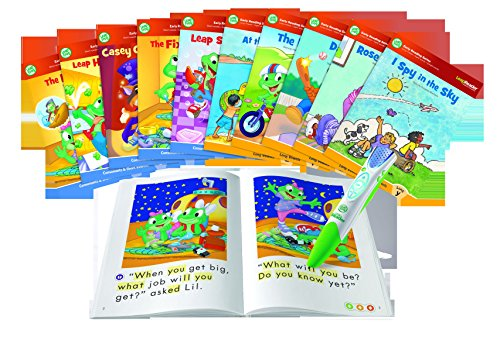 LeapFrog LeapReader System Learn to Read 10 Book Bundle (Electronic Book Reader For Kids)
