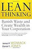 img - for Lean Thinking: Banish Waste and Create Wealth in Your Corporation by James P. Womack (2003-07-07) book / textbook / text book