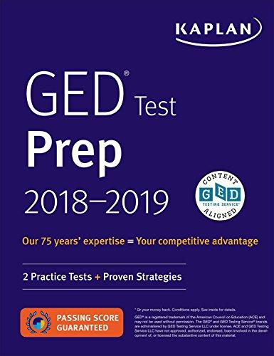 GED Test Prep 2018-2019: 2 Practice Tests + Proven Strategie